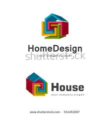 home design companies creative house logo design modern style stock vector 363526619