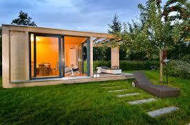 design gerã tehaus gartenhaus design flachdach my