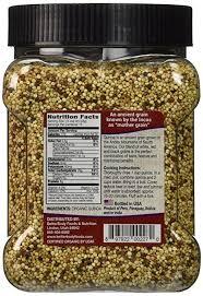 amazon com betterbody foods organic quinoa medley of white