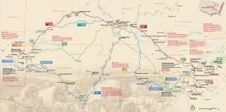 Show Me The Map Of United States by Maps Trail Of Tears National Historic Trail U S National Park