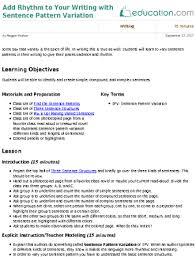 simple compound and complex sentences lesson plans education com