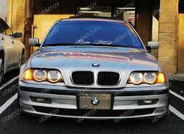 bmw switchback led angel eye rings for bmw e46 3 series 325i 330i