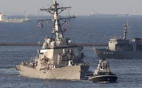 Us Flagged Merchant Ships Over A Third Of U S Navy Ships In Pacific Lack Training