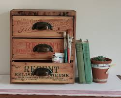 Vintage Desk Organizer Reserved For Alana Multi Drawer Desk Organizer From Repurposed