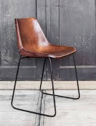 Second Hand Leather Armchair Best 25 Leather Dining Chairs Ideas On Pinterest White Leather