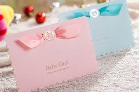 baby shower invitation boys girls birthday greeting card gifts