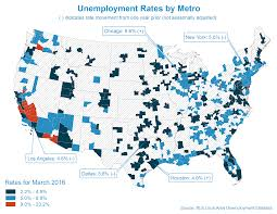 L Chicago Map by Chicago Metro Unemployment Rate Increases To 6 6 In March