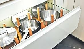 organisateur tiroir cuisine amenagement tiroir cuisine les a plus a ingacnieux des tiroirs