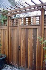 Best  Fence Design Ideas On Pinterest Modern Fence Design - Backyard gate designs