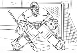 hockey player coloring pages coloring
