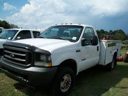 Ford F350 Service Truck - 2004 ford f350 utility truck diesel engine 4x4 ser