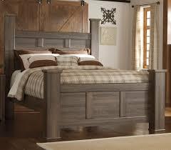 driftwood rustic modern 6 piece queen bedroom set fairfax rc