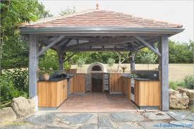 cuisine d été en bois cuisine ete bois cuisine ete bois desserte construire une