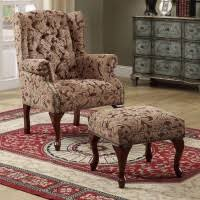 How To Use Accent Chairs Chair W Ottoman Furniture Ashmore Il Richey U0027s Furniture