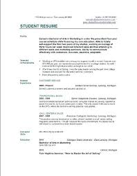simple resume template word basic resume sles great resume sle objectives for in