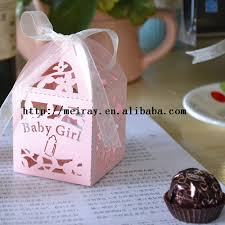 Christian Baby Shower Favors - aliexpress com buy laser cut baby boy favor boxes for baby
