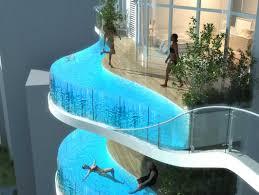 Balconies Luxury Condo With Balcony Pools Business Insider