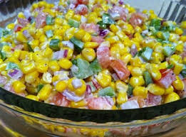 thanksgiving side dish corn salad al