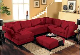 livingroom sectionals home metropolis cardinal 4 pc sectional living room