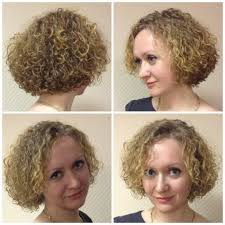 mother told me that a short permed bob was to feminine girly for