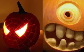 awesome halloween pumpkins cool pumpkin carving ideas design for