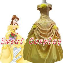 Belle Halloween Costume Adults Popular Belle Princess Costume Buy Cheap Belle Princess