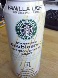starbucks doubleshot vanilla light caffination reviews starbucks doubleshot energy coffee light