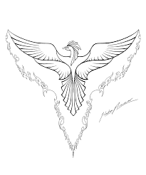 phoenix coloring pages to download and print for free new coloring