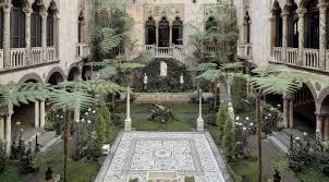 courtyard stewart gardner museum