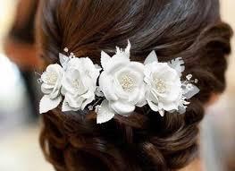 how to wrap wedding hair 20 white flower hair clips wedding white flower hair clips shoe