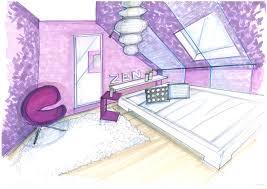 dessin chambre en perspective chambre chambre moderne en perspective chambre moderne en