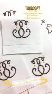 31 best monogrammed linen guest towels images on pinterest guest
