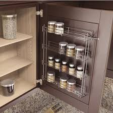 Spice Racks For Kitchen Cabinets Spice Racks Door Mounted Spice Racks By Vauth Sagel