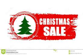 christmas tree for sale christmas sale and christmas tree on banner royalty free