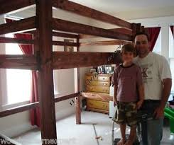 free plans build twin over full bunk beds discover woodworking