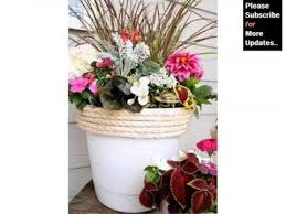 Design Flower Pots Flower Pot Arrangement Ideas Home Decor Pictures Ideas Youtube