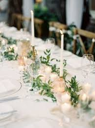 simple wedding centerpieces lush garden wedding with greens galore lush florals and