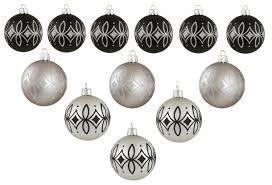 black and silver christmas decorations hip who rae