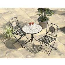 Wilko Garden Furniture Casablanca Mosaic Bistro Collection Cream Tiles Set U2013 The Uk U0027s No