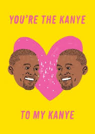 kanye valentines card kanye heart