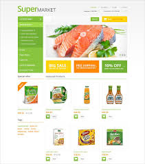 Grocery Store Website Themes  amp  Templates   Free  amp  Premium