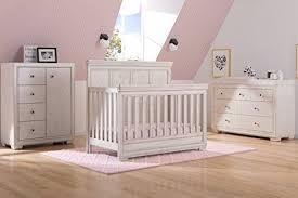 Convertible Crib And Dresser Set Simmons Ravello 6 Nursery Furniture Set Convertible