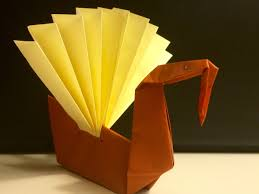 origami for beginners turkey great for craft with step
