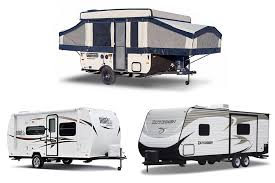 small rv travel trailers pop up pickup campers class b