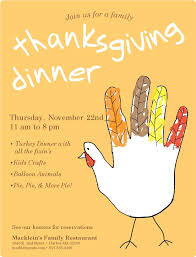 family thanksgiving flyer musthavemenus father u0027s day