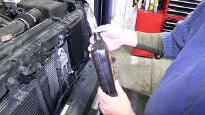 installation of a transmission cooler on a 2009 nissan xterra