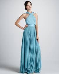 light blue halter maxi dress lyst sachin babi antalya halter maxi dress in blue