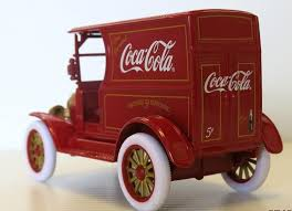 1 24 diecast coca cola 1917 ford model t delivery truck