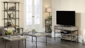 Sauder 5 Shelf Bookcase by Industrial Apartment Furniture Rustic Modern Apartment Furnishing