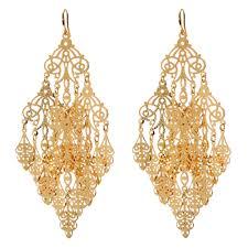 Gunmetal Chandelier Earrings Amrita Singh Gabrielle Earring Fashion Jewelry Earrings
